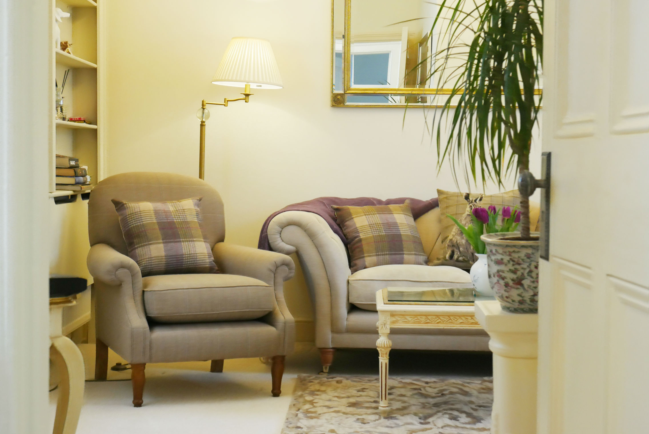 The Lounge at The Hesketh Crescent Luxury Holiday Apartment in Torquay